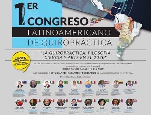 1er Congreso Latinoamericano de Quiropráctica