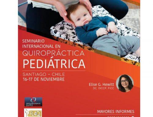 Seminario Internacional en Quiropráctica Pediátrica  en Santigo – Chile
