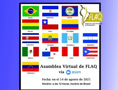 Asamblea Virtual de FLAQ – 2021